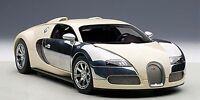 1:18 Autoart Bugatti Eb Veyron 16.4 Blanco Hermann Zu Leiningen