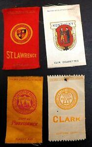 1910s CIGARETTE TOBACCO SILKS KENTUCKY ST. LAWRENCE PROVIDENCE CLARK UNIVERSITY