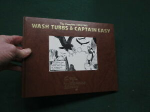 Wash Tubbs & Captain Easy Vol 7-Strip Reprints Hard Cover-1932-1933