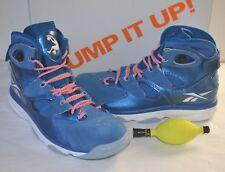 af03861112bc0e Reebok Shaq Attaq 4 IV White blue Men Basketball Shoes Sz 9