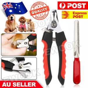 Pet Nail Clipper Cutter Scissors Dog Cat Rabbit Toe Claw Paw Groomin Heavy Duty