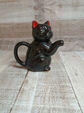 Unbranded black cat novelty 1 person teapot
