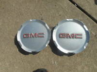 "2 GMC Terrain Wheel Center Caps 10 11 12 13 14 15 2016 2017 9597973 17"" Hubcaps"