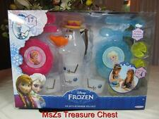 "Disney's   FROZEN  ""Olaf's Summer Tea Set""   (17) PC service for (4)   ** NIB **"