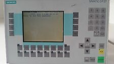 Siemens Simatic OP27 color 6AV3627-1LK00-1AX0 Panel