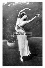 rp10573 - Russian Prima Ballerina , Anna Pavlova - photograph 6x4