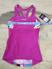 ZOOT Women's XS Performance Tri Top Racerback Pink Fractal Design Shirt Singlet