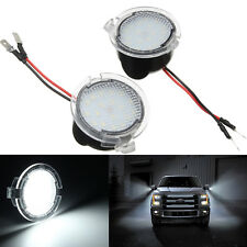 Set Super White 18-LED Under Mirror Lights for Ford Edge Explorer Taurus Lincoln