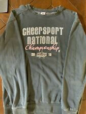 "Cheersport Nationals ""Varsity Spirit"" Sweatshirt Size S - Oversized Gray"