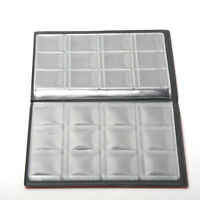 120 Coin Holder Collection Album Money Storage Pockets Penny Book Collecting