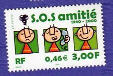 TIMBRE FRANCE 2000 SOS AMITIE NEUF