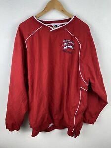 University Liggett Knights Athletics Mens Track Jumper Size XL Pullover Sewn
