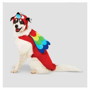 Halloween Parrot Halloween Dog Costume - Large