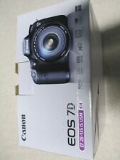 Canon EOS 7D 18.0 MP Digital SLR Camera - Black (Body Only) - Shutter Count 591