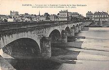 BF10071 le pont sur la loire et l entree de la ru saumur france       1