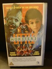 LITTLE MONSTERS - RARE VHS - HOWIE MANDEL - FRED SAVAGE