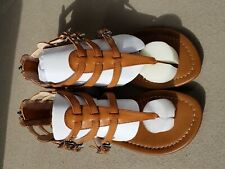 Women's gladiator sandals, Mix No 6, size 7.5, new in original box