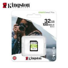 Kingston Canvas Select Plus 32GB SDHC Class 10 SD Memory Card UHS-I U1 100MB/s
