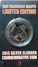 San Francisco Giants 2015 Silver Slugger Coin RARE!