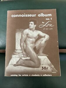 Rare Connoisseur Album 1954 No 1 By Lon Gay Male Beefcake Magazine Digest Rust