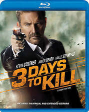 3 Days to Kill (Blu-ray Disc, 2014)  w/Slipcover  Kevin Costner  Brand NEW
