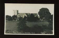 Gloucester Glos OLD SODBURY Church c1910/20s? RP PPC local pub Dowding
