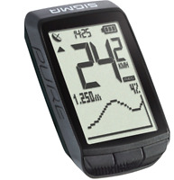 Sigma Sport Pure GPS Tacho Schwarz Fahrradcomputer USB OVP