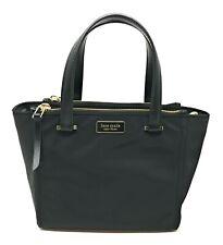 Kate Spade Dawn Small Satchel Nylon Crossbody Bag Black WKRU5917