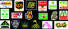 18 Weed Marijuana Cannabis 420 Fun Vinyl Stickers G
