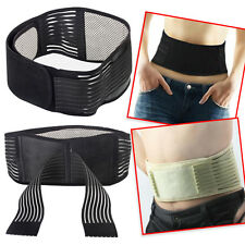 Hot Self-Heating Magnetic Waist Support Lumbar Brace Belt Pull Strap Random