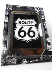 Route 66 espejos para bar pub negocio 30 CM, estados unidos américa decoración, nuevo, emblema