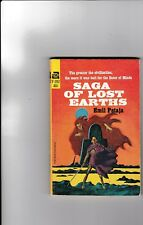 SAGA OF LOST EARTHS---EMIL PETAJA---1st1966---ace F-392---art Jack Gaughan