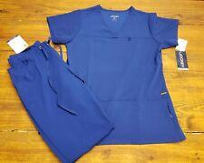 New listing New w/Tags Womens Small Pants Medium Top Jockey Scrubs Galaxy Blue *missmatch sz