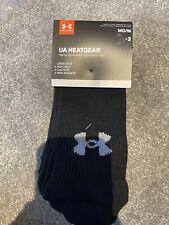 BRAND NEW Under Armour Heatgear Socks Uk 4-8.5
