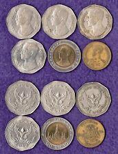 Thailand  Lot von 6 Münzen