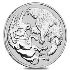 2020 1 oz Silver Australian Bull and Bear Coin Perth Mint .9999  *FLASH SALE*