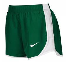"NIKE Green/White Original TEMPO Dri-Fit Women's 3"" Running/Race Shorts NEW - L"