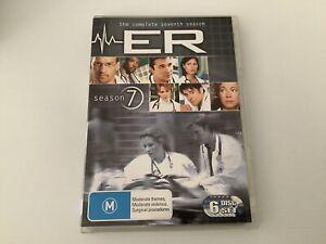 ER Season 7 DVD Australian Release Medical Drama Series Region 4