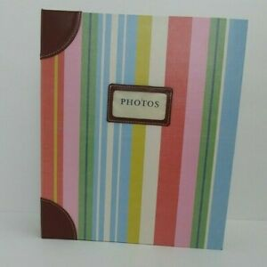 Hallmark Stories Photo Album Refillable Book 3 Ring Binder 10x11.5 Scrapbooking