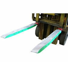 More details for forklift fork protection sleeves - fabric fork shoe protectors - see video