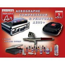 AEROGRAPHE ET COMPRESSEUR AE03+