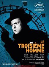 LE TROISIEME HOMME THE THIRD MAN Affiche Cinéma / Movie Poster CAROL REED