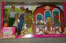 Barbie GJB66 Sweet Orchard Farm Playset 2020 With 2 Dolls Included. in Hand