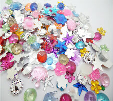 NEW RANDOM for DIY Art crafts 7g(4-18MM) Resin crystal FlatBack Scrapbooking U