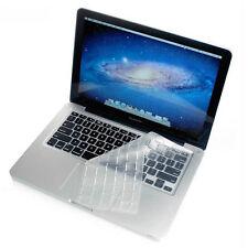 """Ultra-thin Clear TPU Keyboard Skin Cover For Macbook Mac Air Pro Retina 13"""" 15"""""""