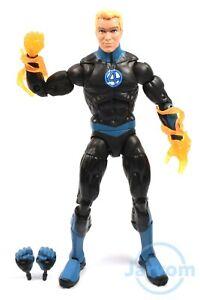 """Marvel Legends 6"""" Inch Super Skrull BAF Wave F4 Human Torch Loose Complete"""