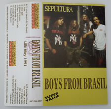Sepultura – Boys From Brasil On Stage Records – MC/ON 2207