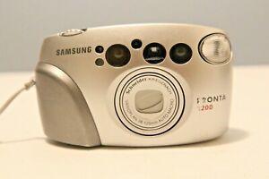 Samsung Pronta 1200 Camera, Compact Point and Shoot 35mm film Camera