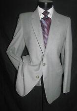 VTg YSL Yves Saint Laurent Gray  Two Buttons Side Vent Men Jacket 42 R