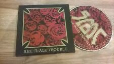 CD PUNK She-Male Trouble-back from the Nitty (14) canzone MCD/xno Alive CB